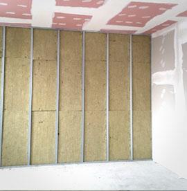 Quanto costa una parete in cartongesso - Coibentazione parete interna ...